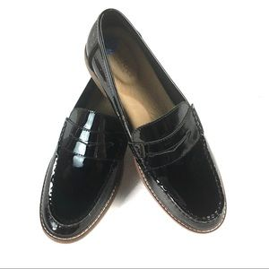 Sperry Seaport Penny Patent Leather Loafers 7.5